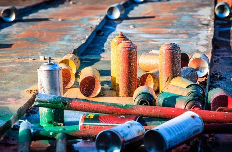 productos graftitti en envasado de aerosoles - Xiomara