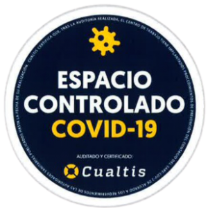espacio controlado covid-19