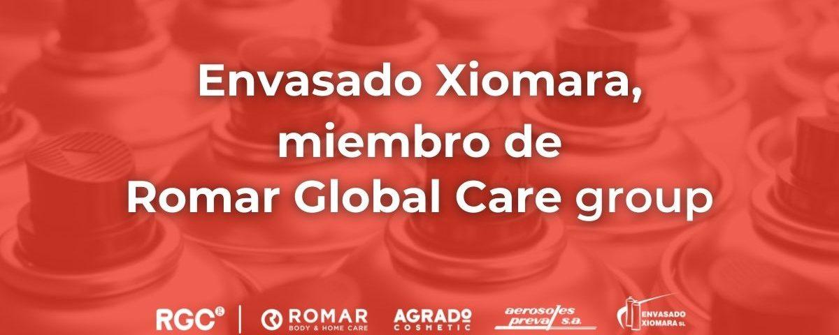 empresa fabricante de aerosoles en España miembro de Romar Global Care group