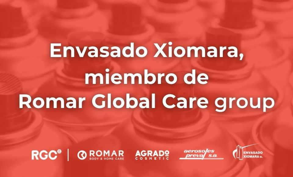 empresa fabricante de aerosoles en España miembro de Romar Global Care group